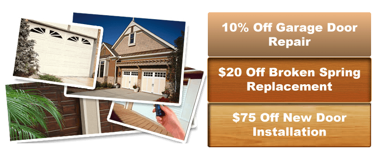 our services in garage door repair moline il